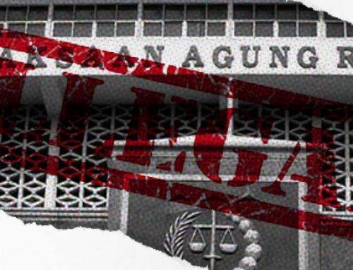 Pernyataan Sikap: Praktik Ilegal Kejaksaan Agung terhadap Terdakwa Chuck Suryosumpeno