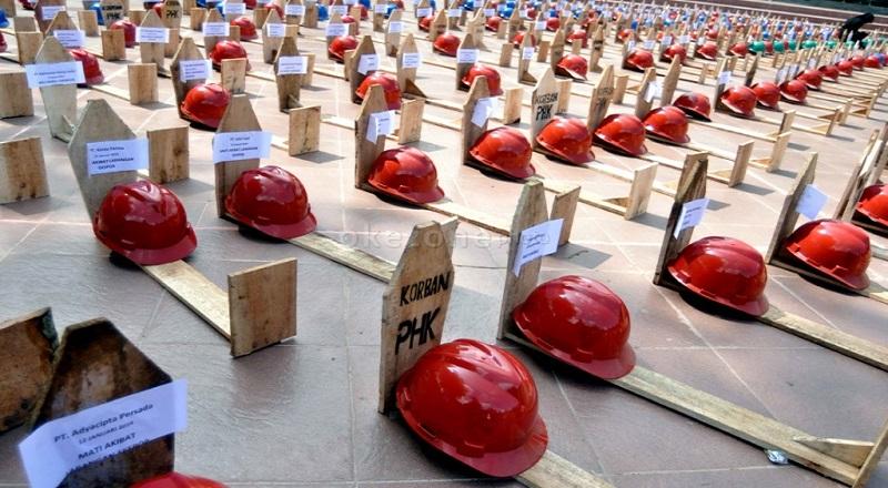 "Siaran Pers: ""Hak-hak pekerja PT Smelting yang terkena PHK ditolak setelah perundingan berujung Deadlock"""